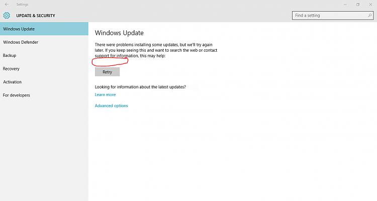Click image for larger version.  Name:windows update error.PNG Views:6 Size:27.2 KB ID:51793