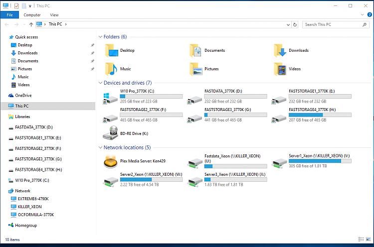 Fresh Install Using latest build - File Exlorer Setting