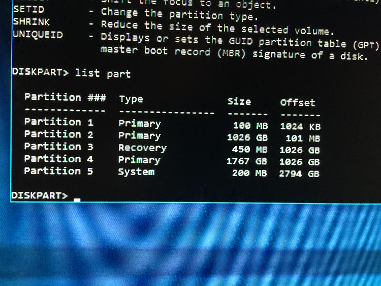 Windows 10 Troubleshoot - Advanced Options missing Solved