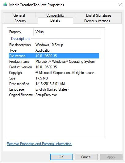 windows 2016 usb creation tool