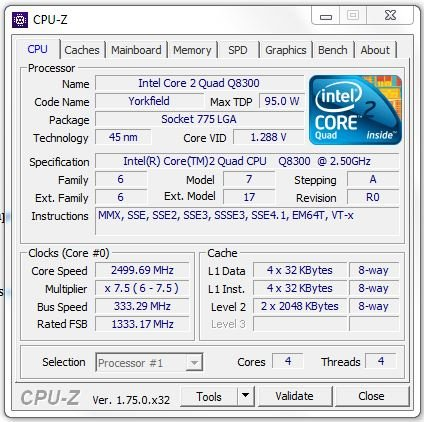 Cpu z software for windows 7