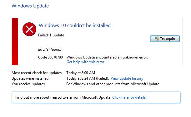 microsoft windows 7 updates fix