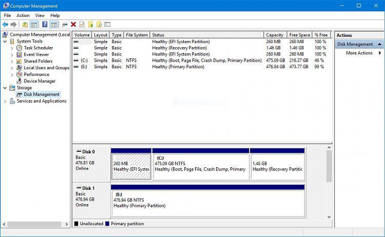 Click image for larger version.  Name:Disk Management VAIOZ 160406.JPG Views:4 Size:277.0 KB ID:73403