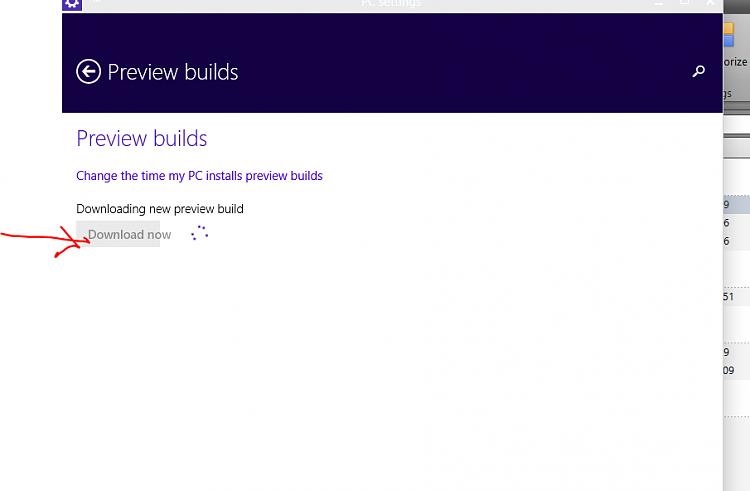 No Progress indicator on latest build downloading status-progress.png