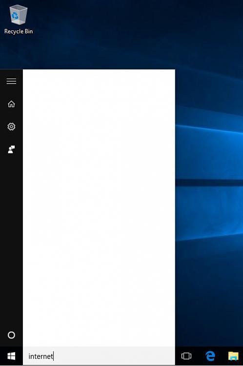 Sysprep Windows 10 Start Menu Search Is Blank Windows 10