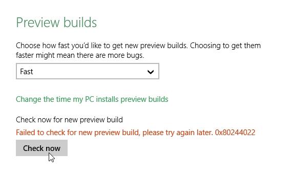 Click image for larger version.  Name:PreviewBuildsError.jpg Views:139 Size:60.3 KB ID:8340