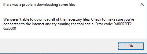 Click image for larger version.  Name:while running 'MediaCreationTool', I found this error.JPG Views:28 Size:22.5 KB ID:89509
