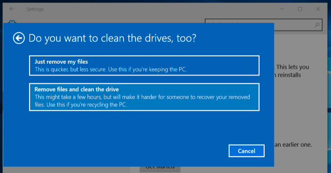 how to wipe hard drive d on w7