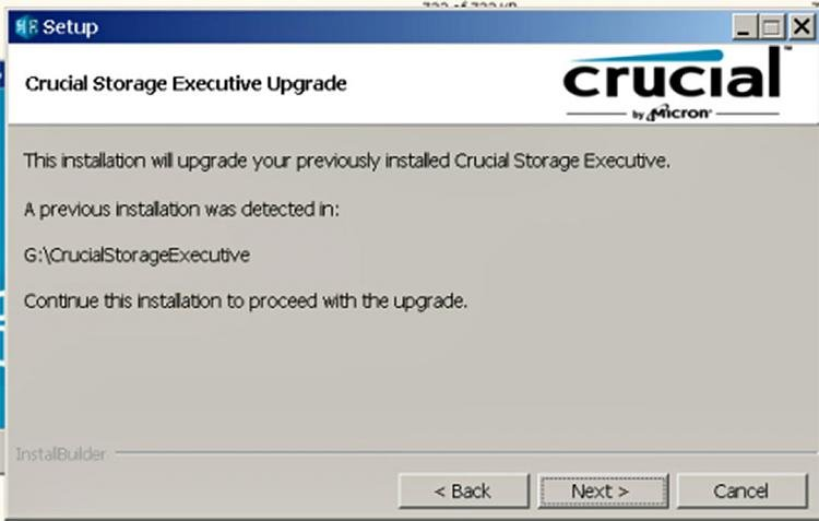 Click image for larger version.  Name:CrucialM550_StorageExecutiveInstallProb.jpg Views:2 Size:70.0 KB ID:92746