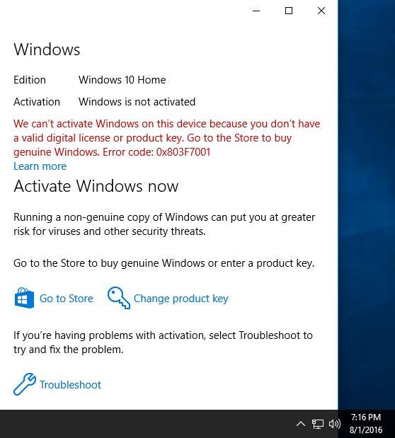 windows 10 digital license key free