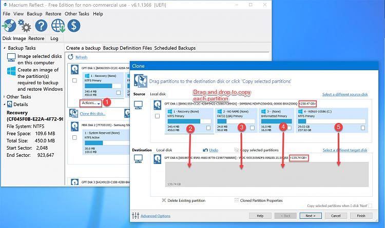 Cloning Windows 10 to smaller SSD - Windows 10 Forums