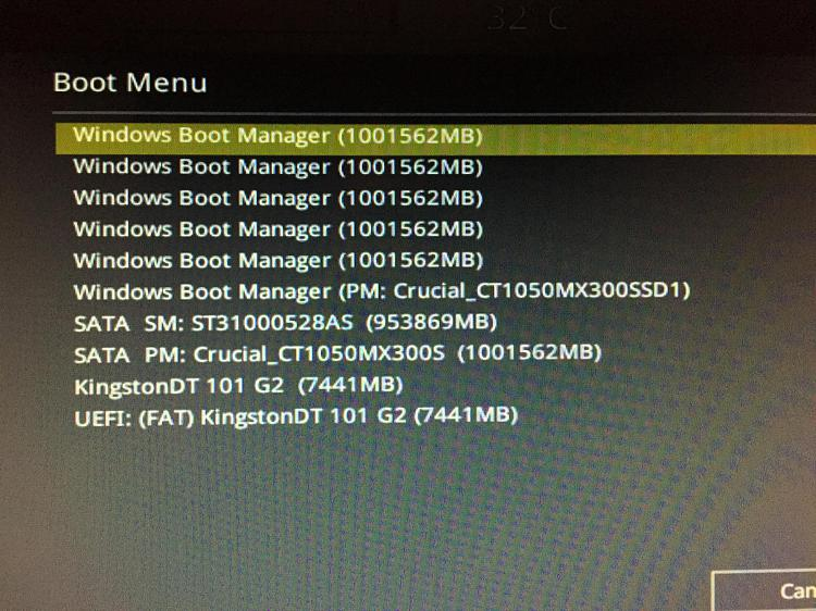No listing under MSConfig Boot tab / not sure what to do-img_3826.jpg