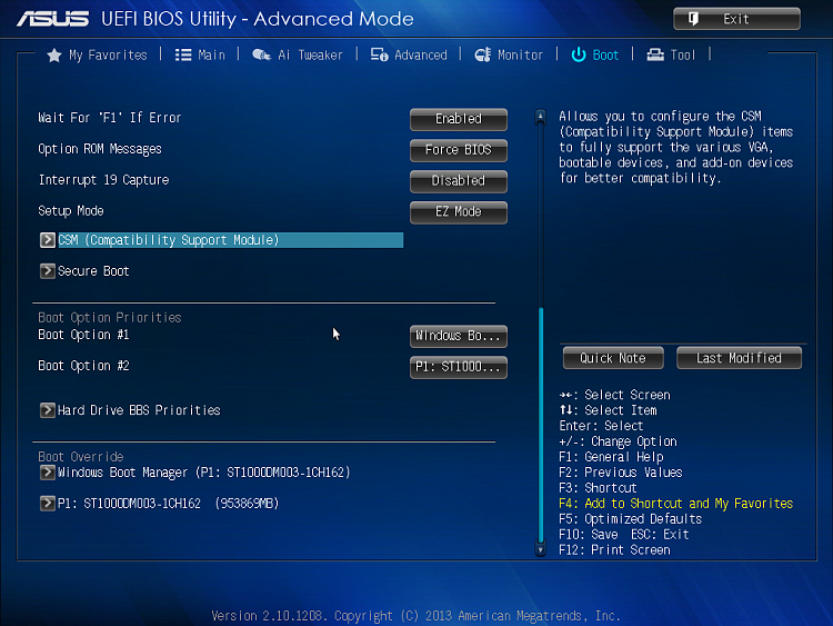 Click image for larger version.  Name:Asus UEFI BIOS Utility 1.png Views:7 Size:735.4 KB ID:95272