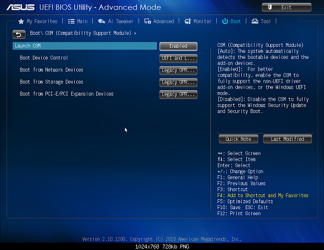 How to Update an ASUS BIOS forecasting
