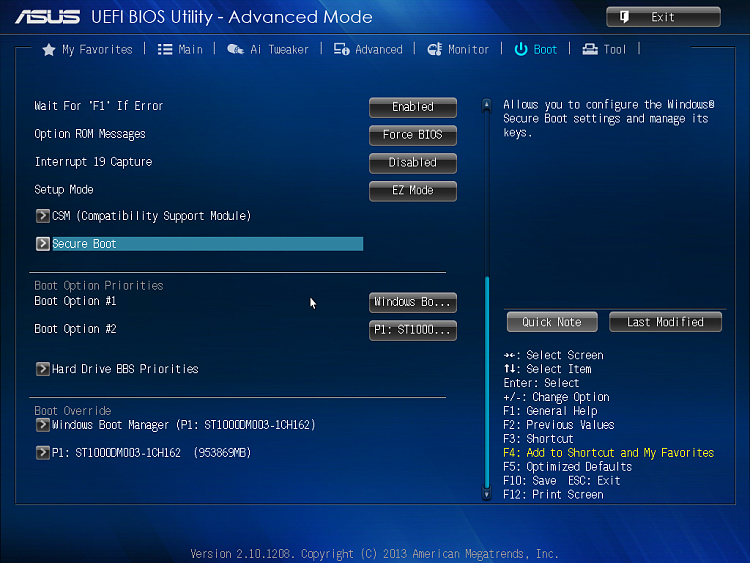 Click image for larger version.  Name:Asus UEFI BIOS Utility 3.png Views:6 Size:735.0 KB ID:95274