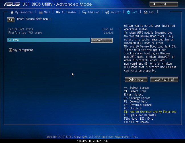 Click image for larger version.  Name:Asus UEFI BIOS Utility 4.png Views:40 Size:370.1 KB ID:95275