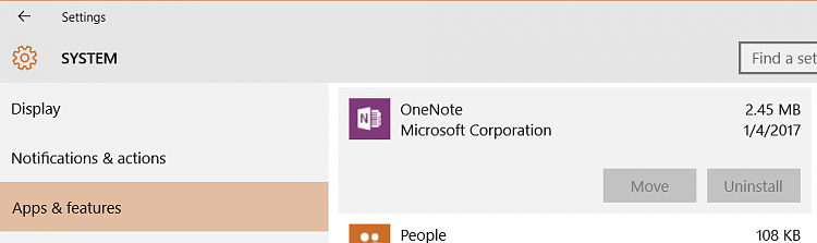 OneNote: Can I uninstall the OneNote APP from Windows 10