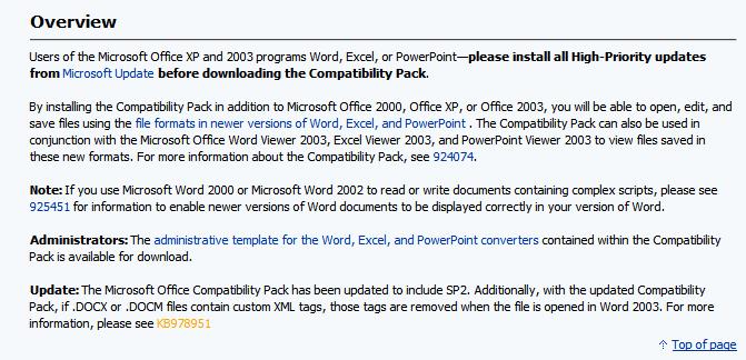 Word 2003 & Microsoft Input Converter ? Solved - Windows 10 Forums