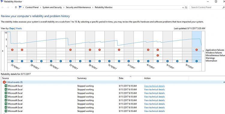 MS Excel 365 sometimes won't start - Windows 10 Forums