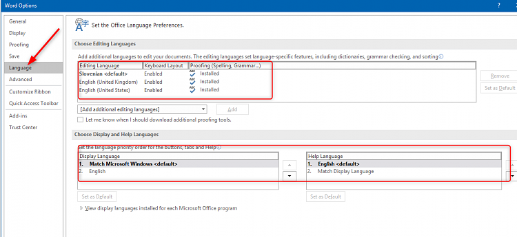 Enable spell check - Windows 10 Forums