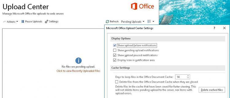 Manage Microsoft Office file uploads to web servers