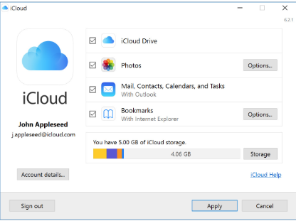 Sync iCloud Contacts with Outlook WITHOUT Mail - Windows 10