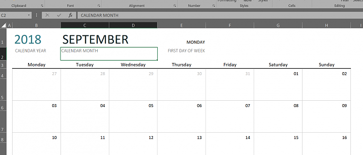 printing monthly calendars from outlook 2016 windows 10 forums