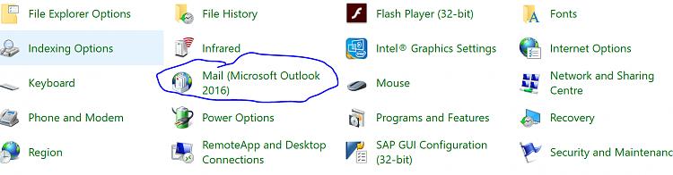 Outlook 2016 setup still broken (is gettable around