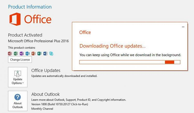 Office 2016 stuck on downloading - Windows 10 Forums