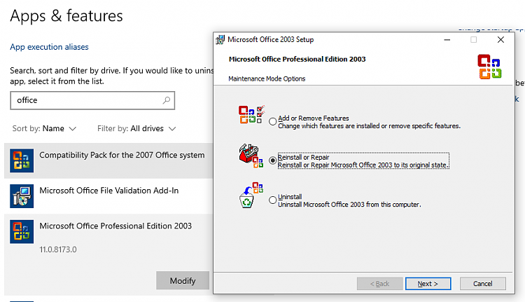 Can Office 2003 be installed on Windows 10? - Windows 10 Forums