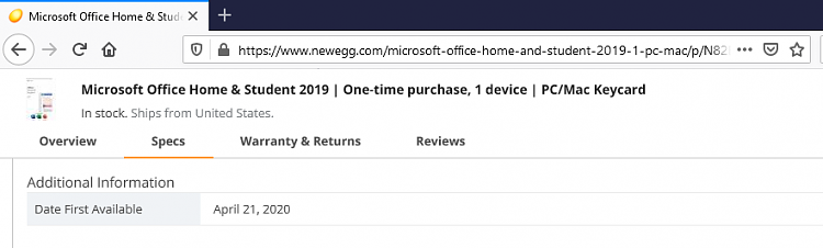 Explain different versions of Office 2019 Home and Student??-image.png