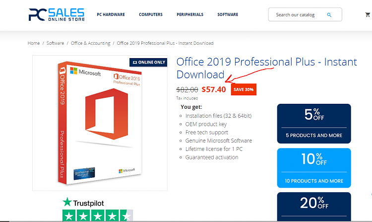Problem Activating Office 2019-image.png