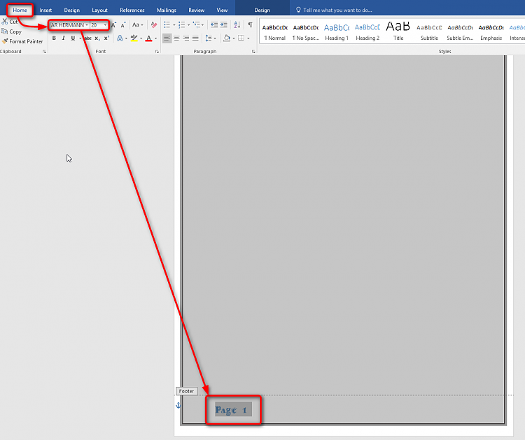 Office Word 2013 How To Change The Font Of Footnote Numbering
