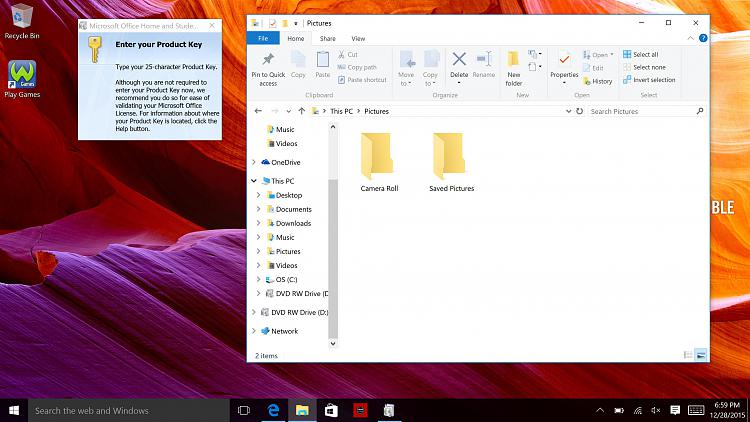ms office windows 10 update