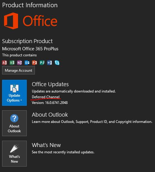 New Version Of Office 2016 Available Windows 10 Forums