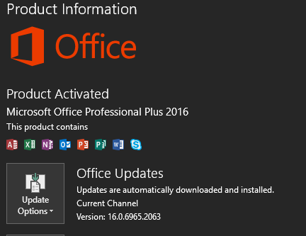 New version of office 2016 available page 2 windows 10 - Latest version of office for windows ...