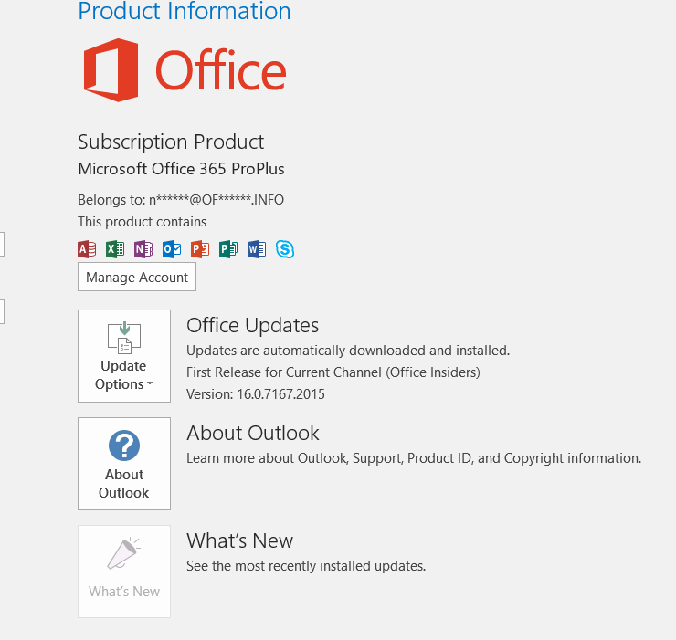 New version of office 2016 available page 3 windows 10 forums - Office 365 version d essai ...
