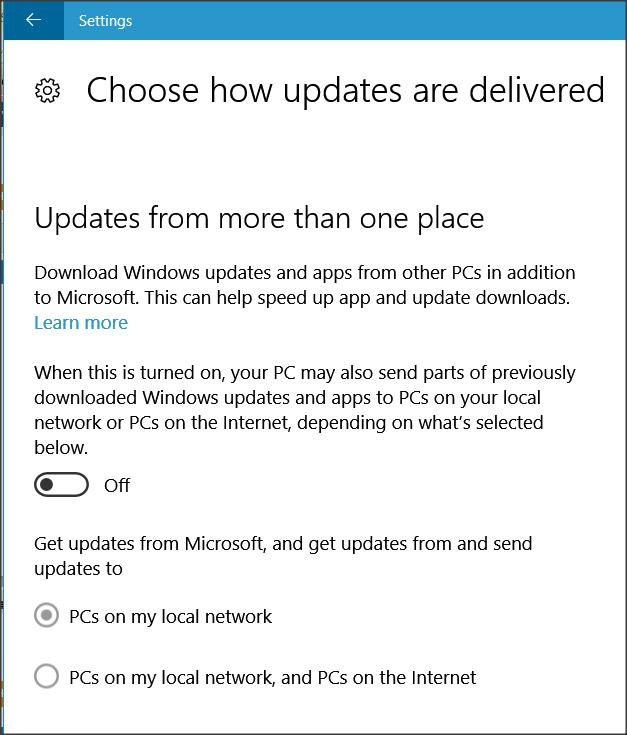 How to speed up windows update download | # Windows Update
