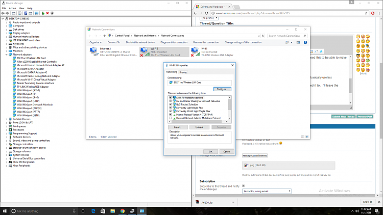NETGEAR A6210 AC1200 WiFi windows 10 anniversary update problems-2.png