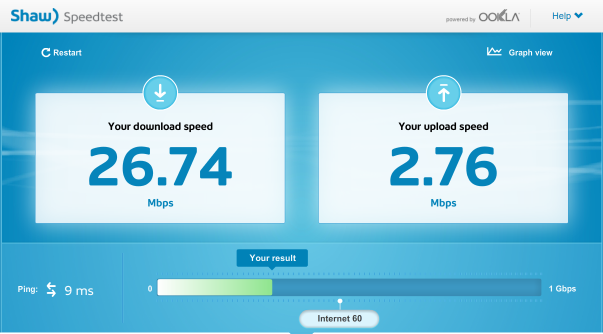 Click image for larger version.  Name:Speed test.PNG Views:123 Size:125.8 KB ID:11350