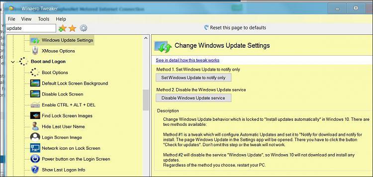 Windows 10 Wired PC Updates - HughesNet Metered Internet Connection ...