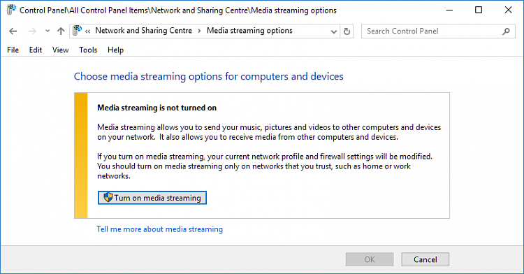 How Can I Allow a DLNA Server App Through the Firewall?-media-streaming.png