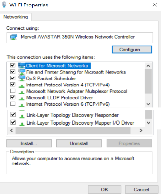 Win10 Wifi slow and erratic, IOS and Droid devices OK Solved