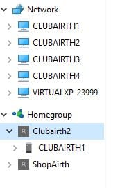 how to get homegroup password in windows 10