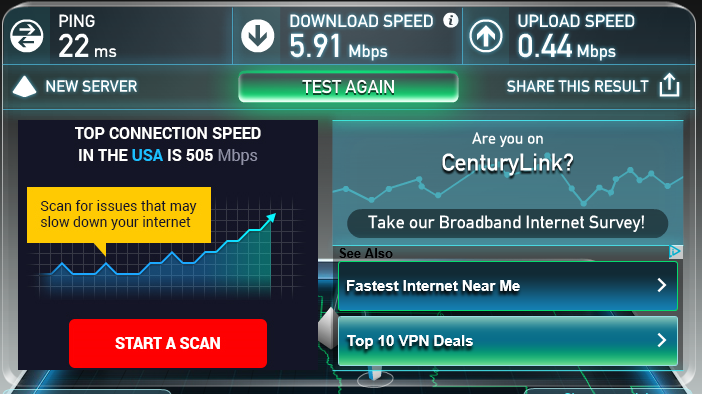 Click image for larger version.  Name:SpeedTest.PNG Views:62 Size:204.6 KB ID:129139