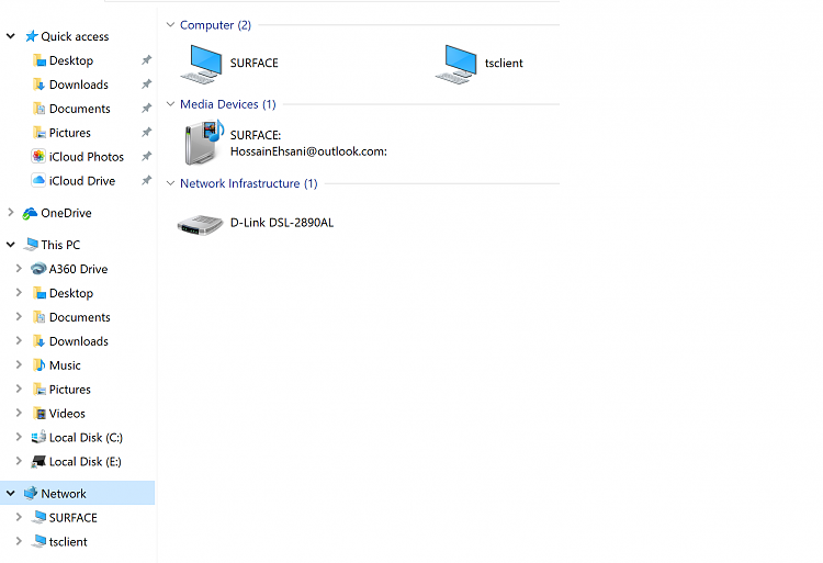 windows 10 not showing computers in network in file browser