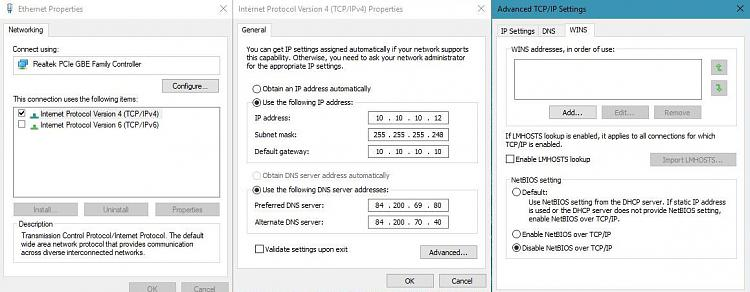 Windows 10 throttles internet download speed  Wonky built-in