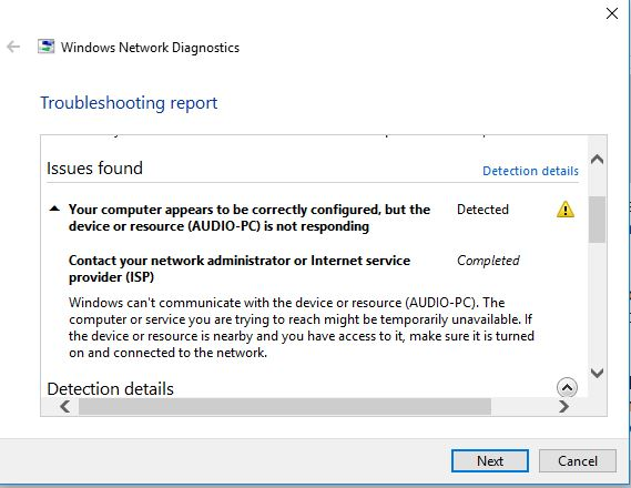 Win10 PC must be booted before Win7 otherwise network drives missing