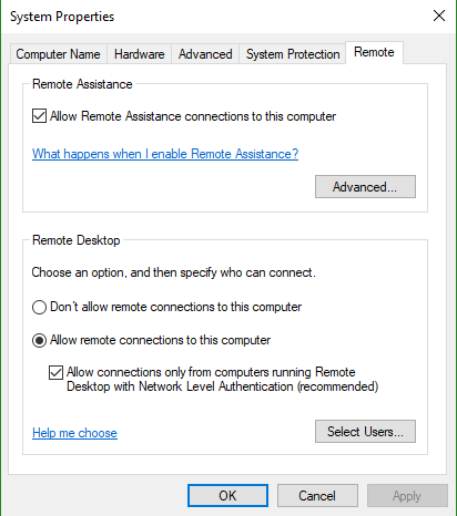 cant see computers on network after windows 10 update