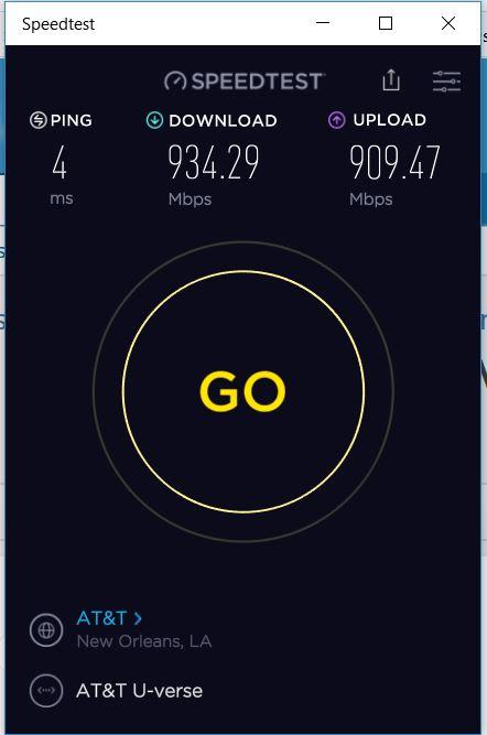 Click image for larger version.  Name:ATT Fiber Speed Test.JPG Views:36 Size:37.5 KB ID:146382